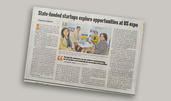 Karnataka-funded startups explore opportunities at US expo